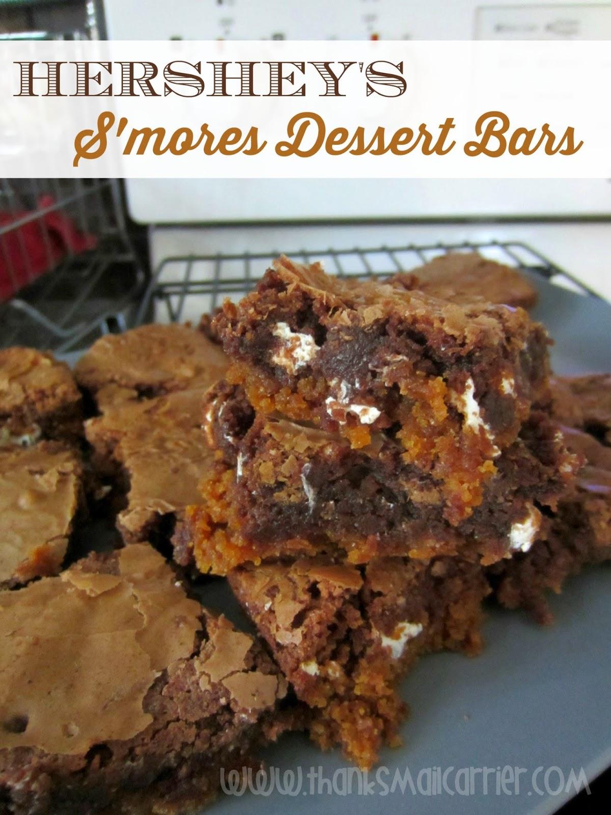 Hershey's S'mores Dessert Bars