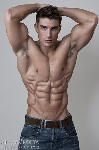 Handsome Male Model - Ryan Terry