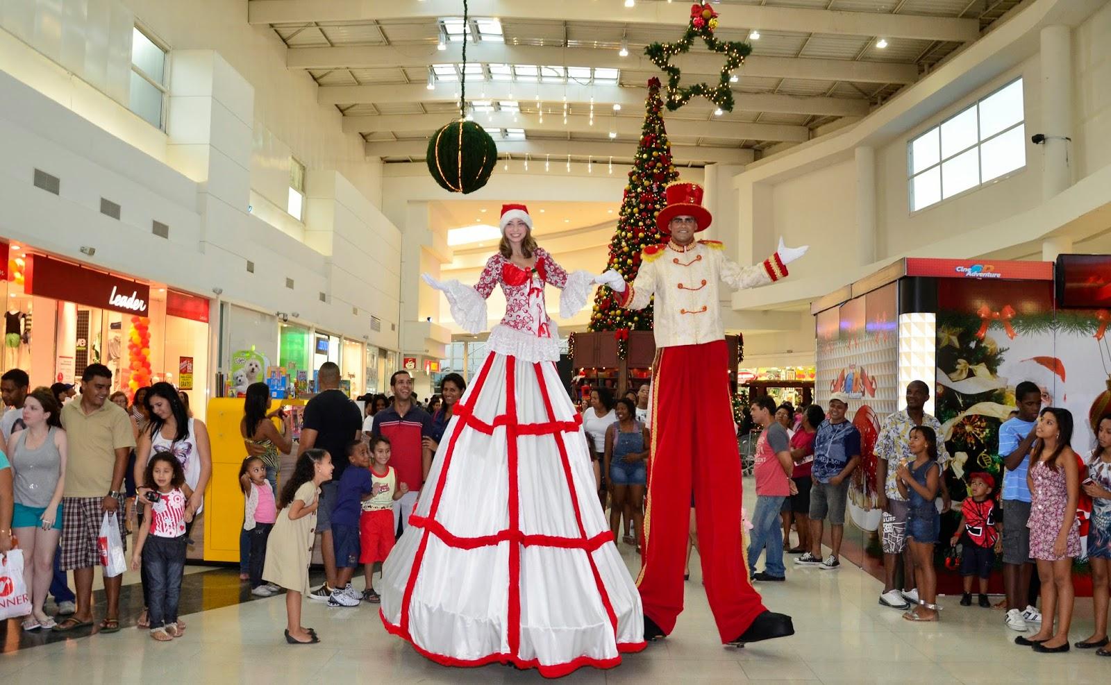 Shopping Grande Rio abre temporada de Natal com atrações gratuitas