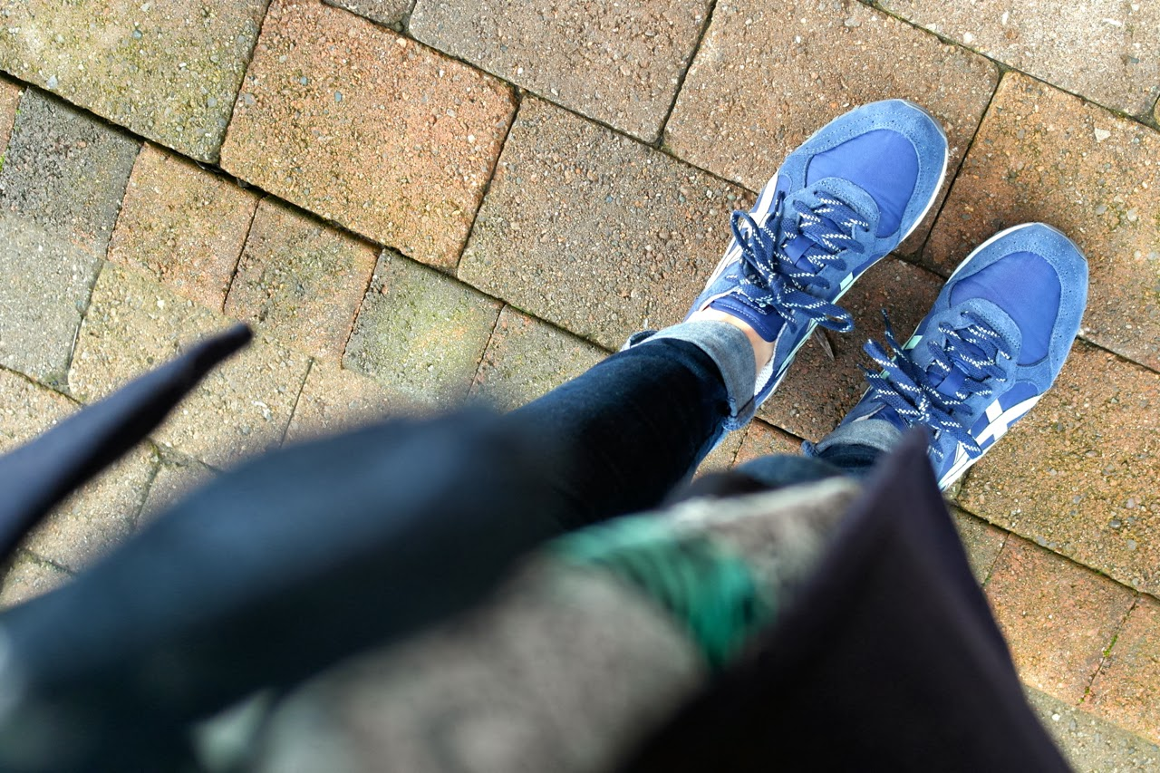 Onitsuka11 The January Style Challenge 4   The Perfect School Run Trainer