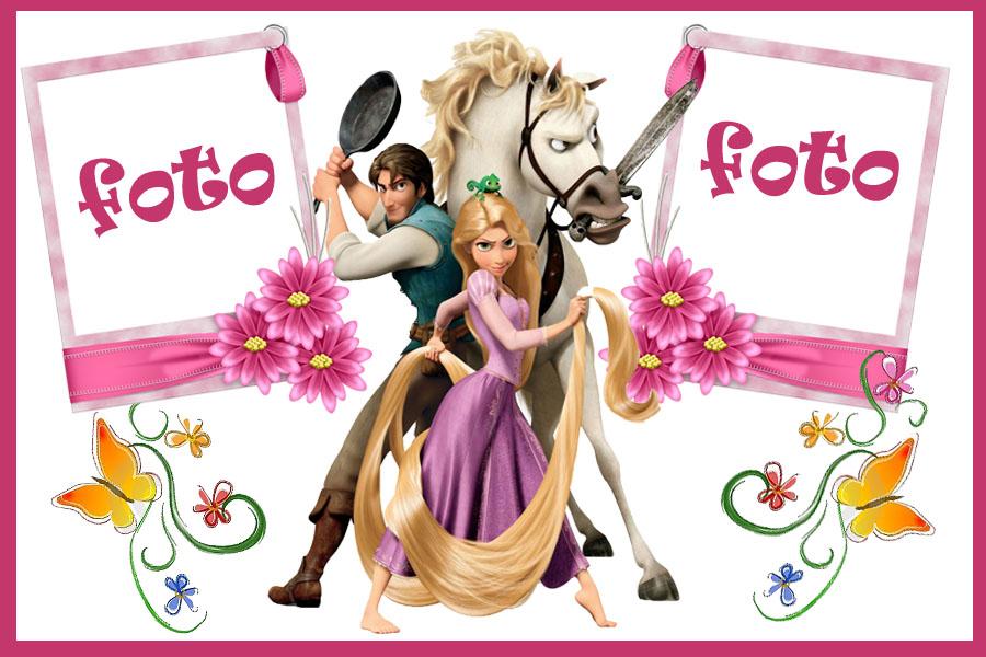 Rapunzel enredados invitaciónes para imprimir - Imagui