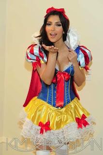 Kim Kardashian, Halloween Costumes