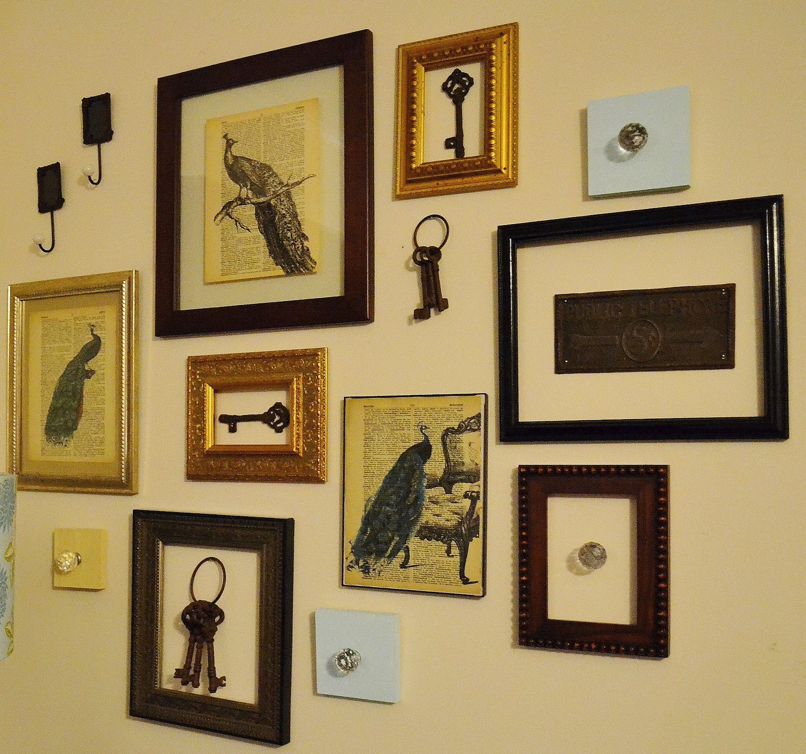 Turn Broken Frames into a Wall Collage | Southern Studio