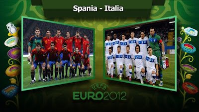 Gambar Final italia vs spanyol