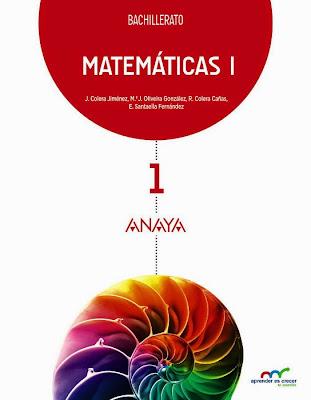LIBROS DE TEXTO - Matemáticas 1  Bachillerato (Anaya - 2015)  MATERIAL ESCOLAR | Comprar en Amazon