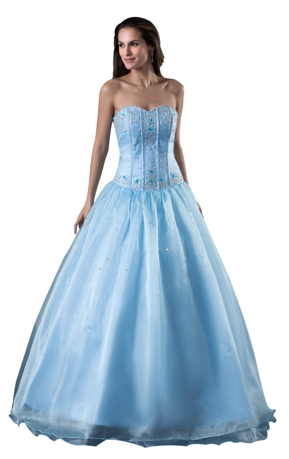 Asestilo store elegant turquoise dresses turquoise wedding dress with built in bra sweetheart design beads and zipper 3 or more layers and 6 12 bones junglespirit Gallery