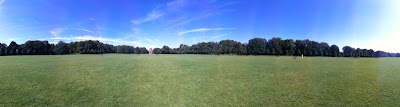 Panorama vom Hamburger Stadtpark, Planetarium