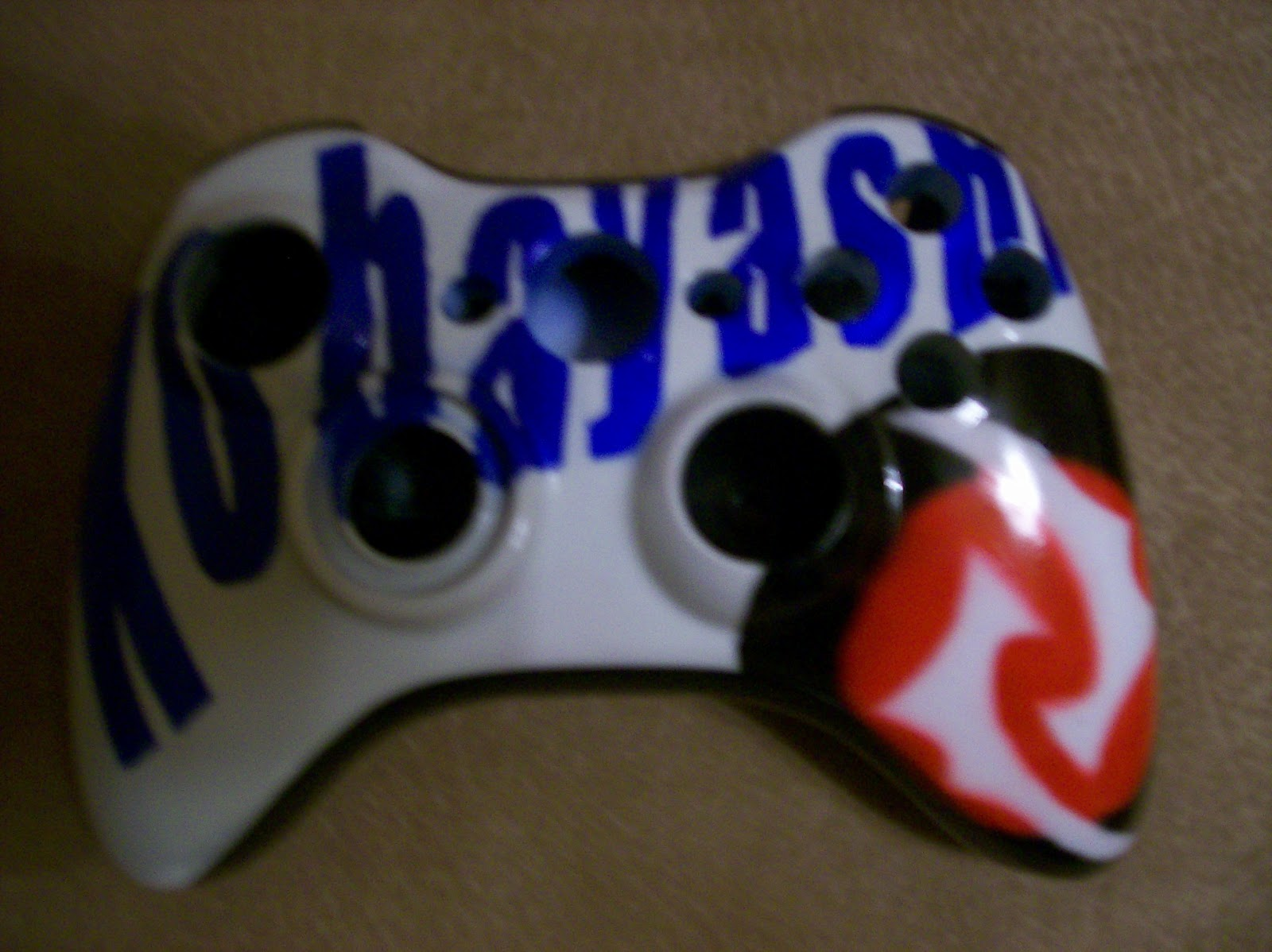 Airbrush Master: Xbox 360 faceplates and controllers