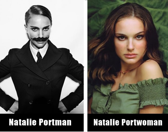 The Two Sides Of Natalie Portman!