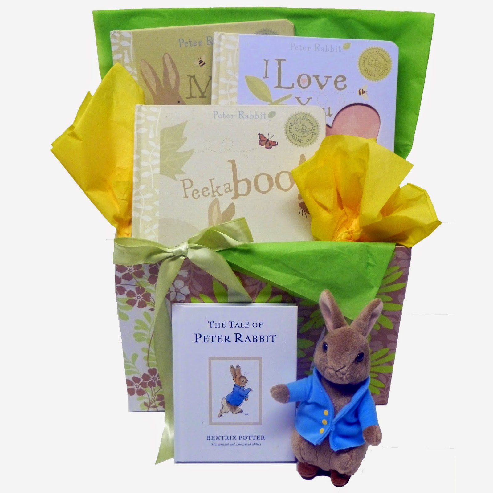 Peter Rabbit Easter Basket for Baby