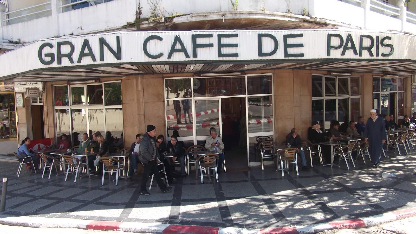 Grand Cafe De Paris Tangier
