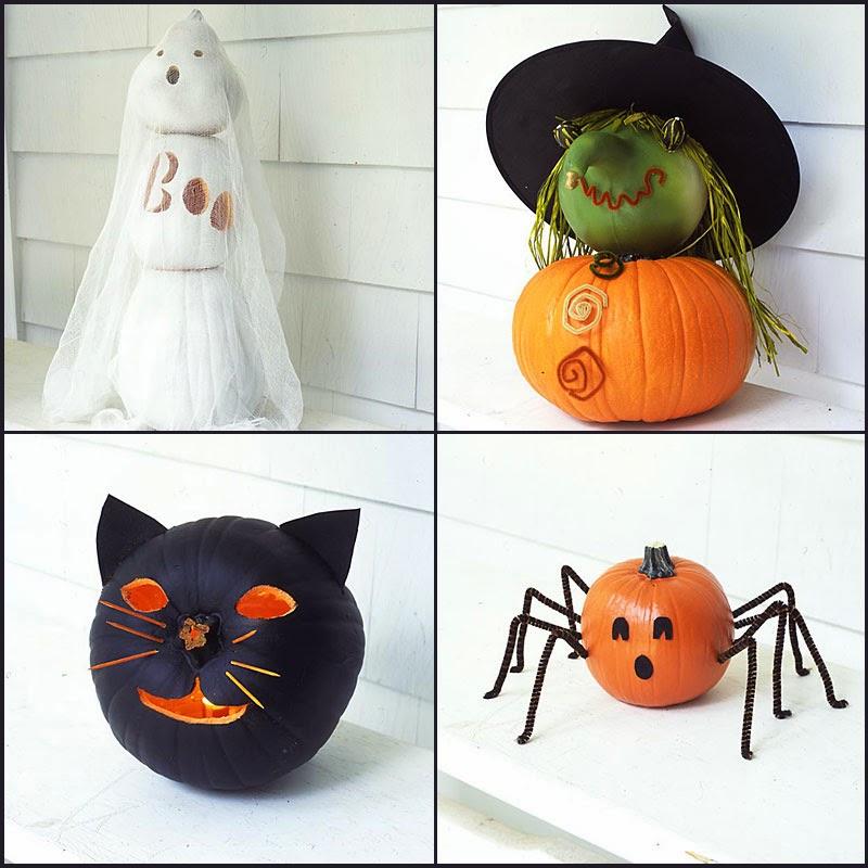 Поделки из картона на хэллоуин своими руками
