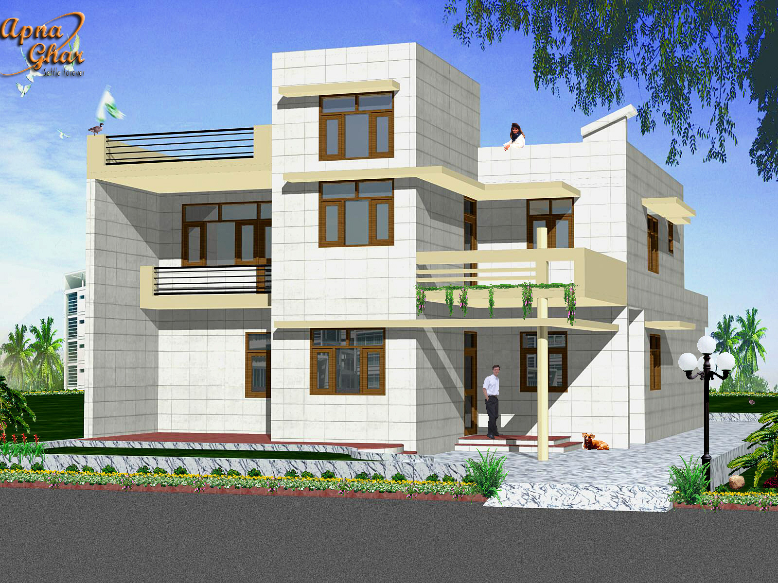 Indian Style Home Design Construction