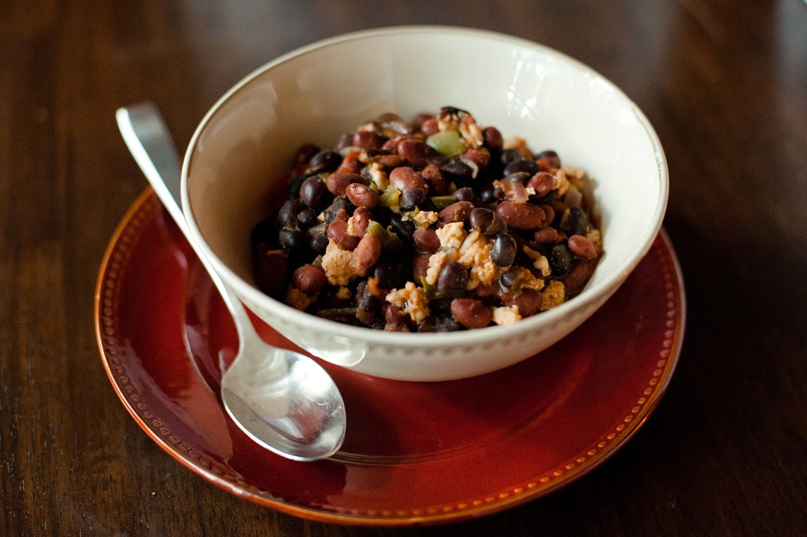 Turkey And Black Turtle Bean Chili Recipe — Dishmaps