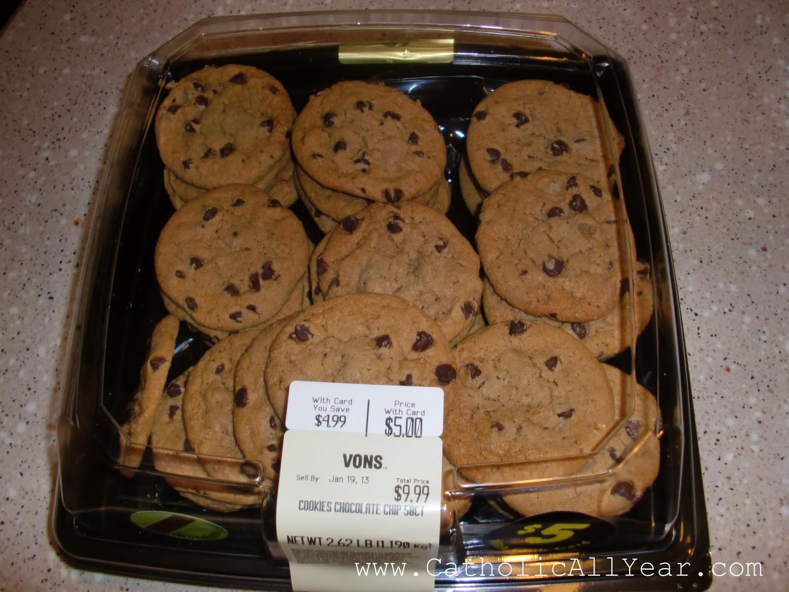 Catholic All Year: DIY Worth It? Chocolate Chip Cookies
