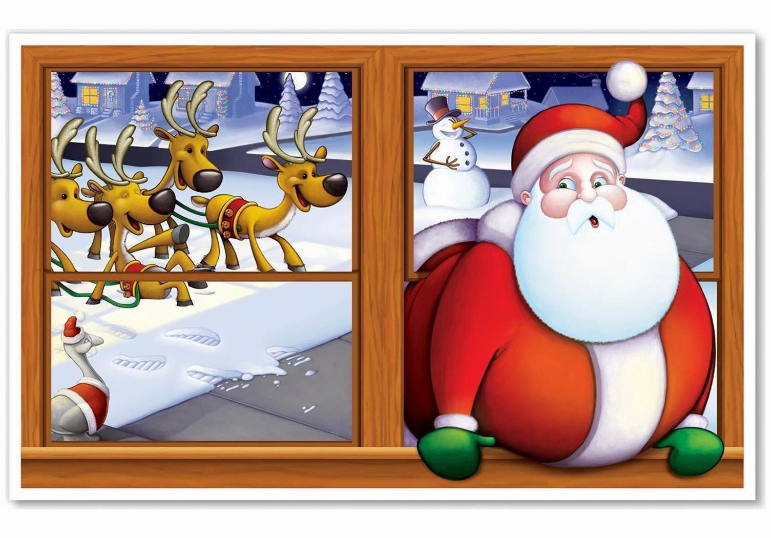 Santa Insta-View for Christmas