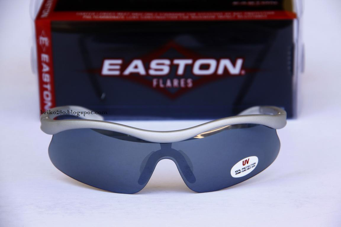 003f16a478ed New in box Easton Flares SL Sunglasses Silver Frame with Smoke lenses.
