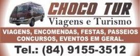 CHOCO TUR: NOVA CRUZ/CANGUARETAMA/NOVA CRUZ