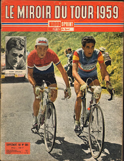 Cycling passions 46th tour de france 1959 for Miroir winners