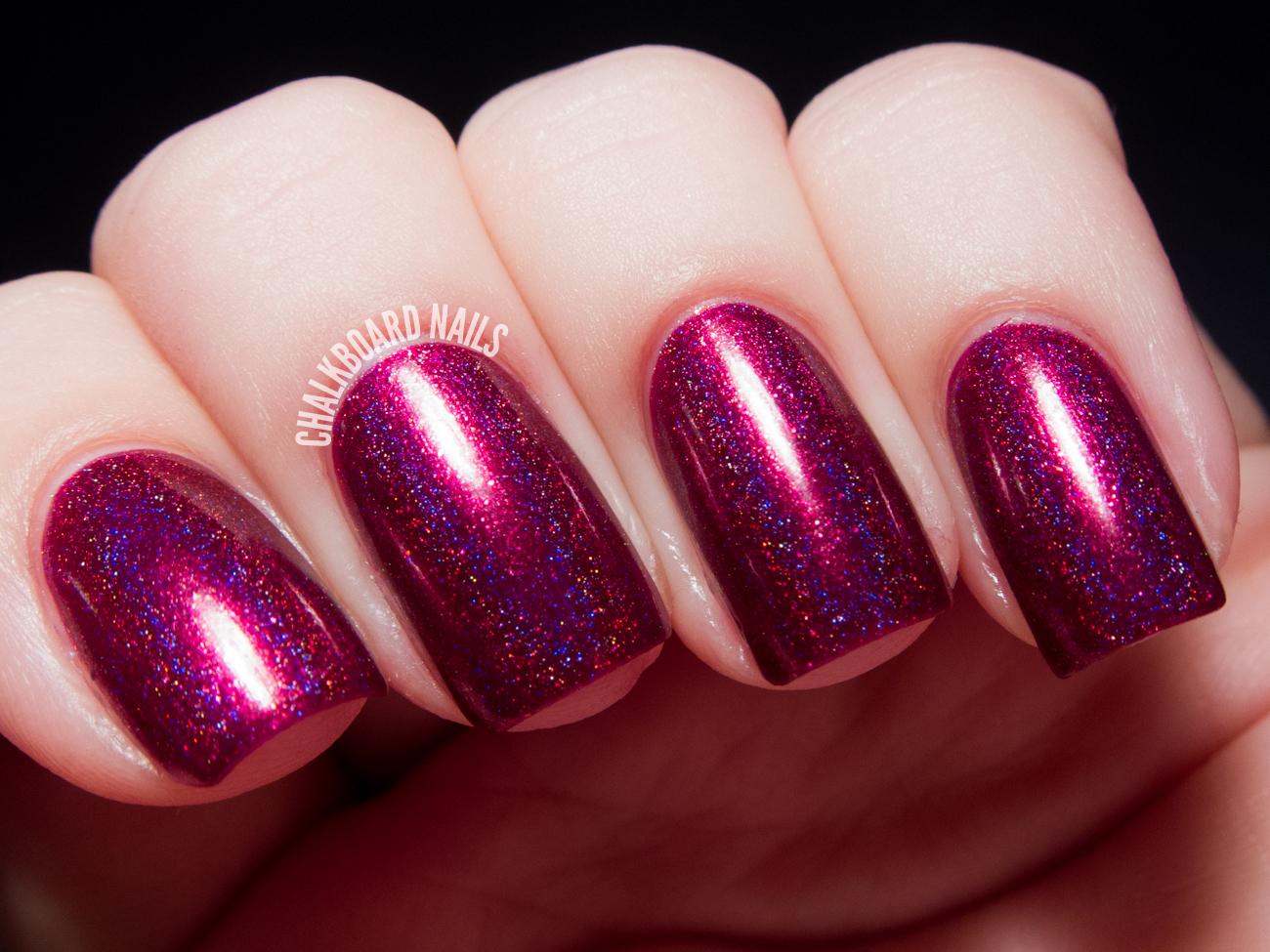 I Love Nail Polish A.C. Slater and Molly Swatches | Chalkboard Nails ...