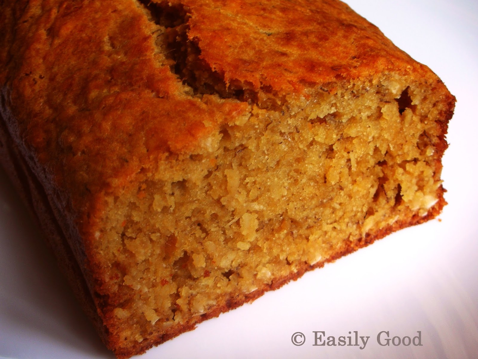 Easily Good Eats: Caramelised Banana Coconut Cake Recipe