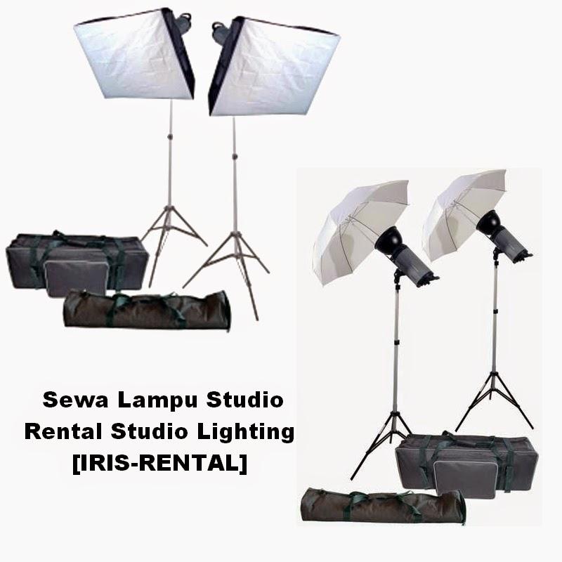 Sewa Lighting Studio Jakarta: Sewa Lampu Studio Foto