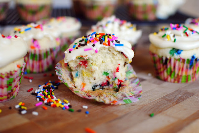Simply Scratch Homemade Funfetti Cupcakes - Simply Scratch