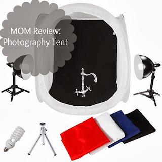Photo Studio Tent Kit Review: Improving Blog Photos