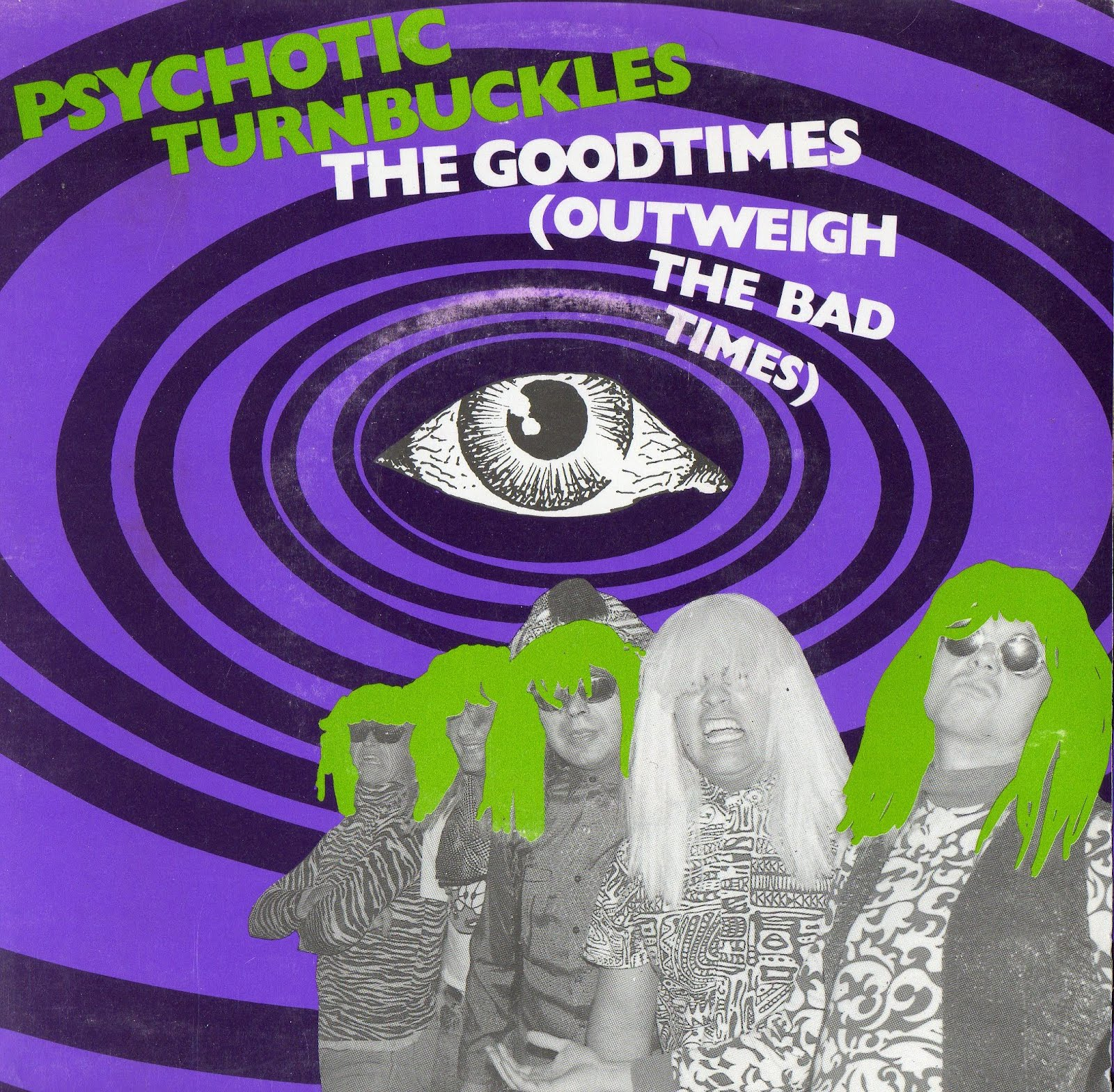 Psychotic Turnbuckles - Pharaos Of The Far Out