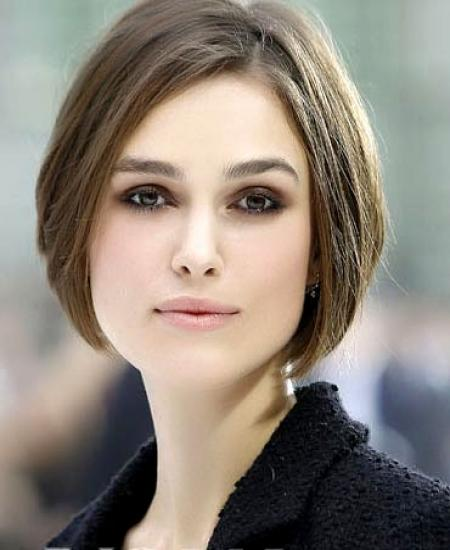 Short Hairstyles Gallery of Keira Knightley 2011