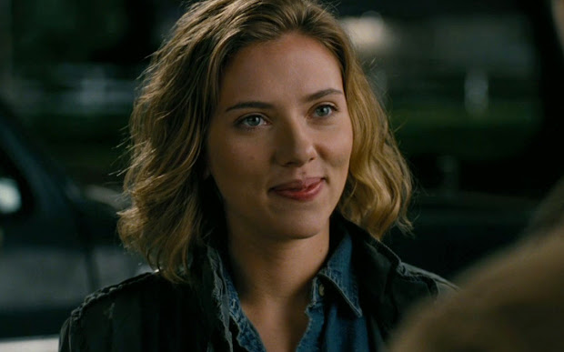 scarlett johansson with and