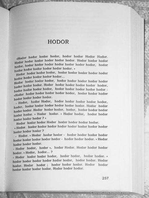 Capítulo de Hodor en Cancion de hielo y fuego - Juego de Tronos en los siete reinos