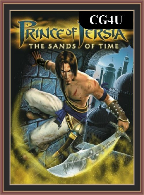 Prince Of Persia - The Sands Of Time PC Game Cover | Prince Of Persia - The Sands Of Time PC Game Poster