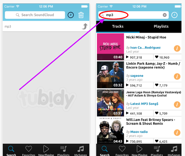 tubidy video search and download