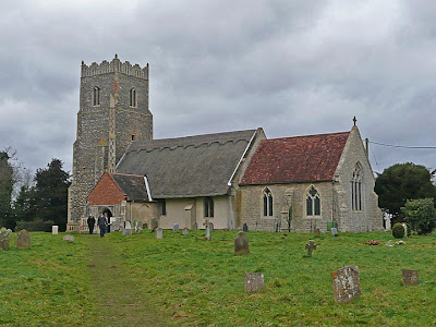 The church of St Botolph, Iken