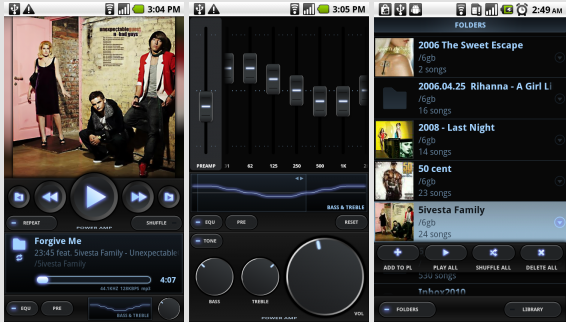 Preview Poweramp Music Player | Andromin