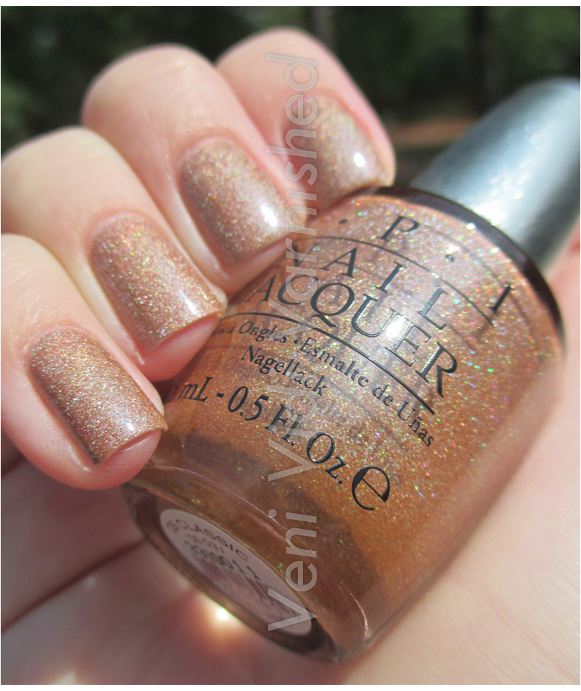 OPI Designer Series DS Classic Holographic Nail Polish