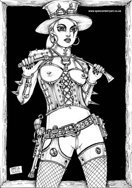 Steampunk Dominatrix (For Sale)