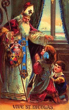 Mes 15 cartes anciennes préféres de Saint Nicolas