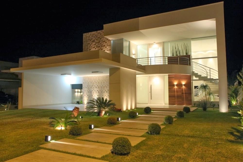20 fachadas de casas com entradas principais modernas e