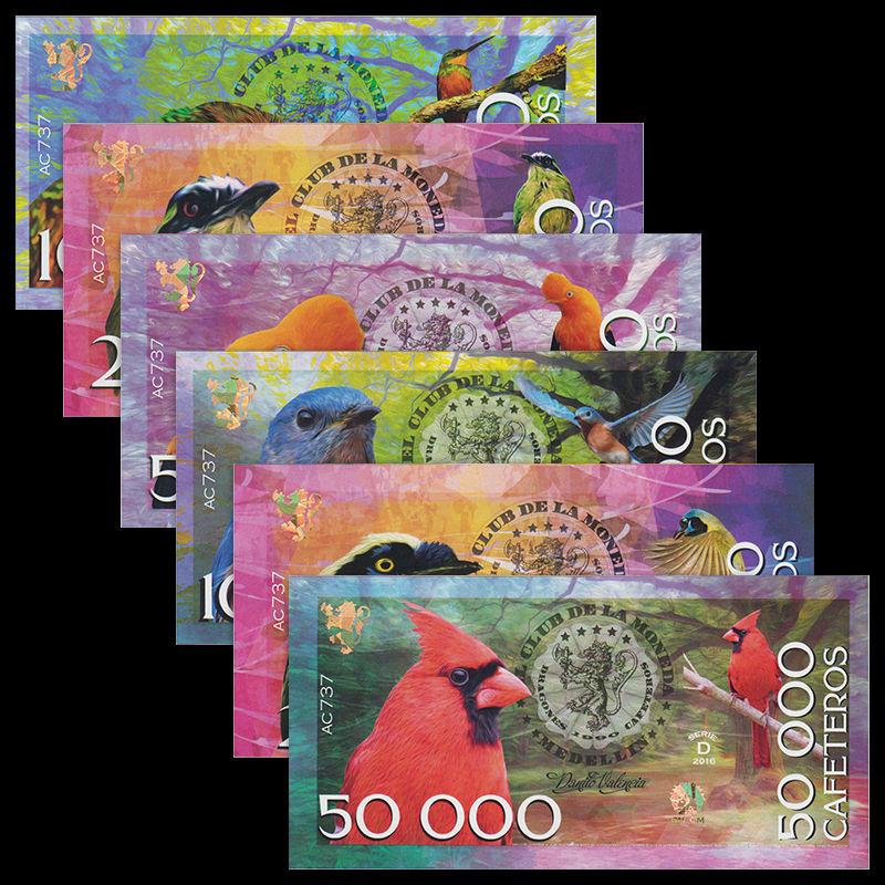ธนบัตรเก่าสภาพไม่ผ่านการใช้งาน UNC
