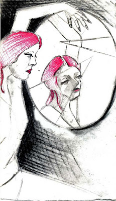 La mia arte sull'Arte (bisticcio di parole solo apparente) Allo-specchio2009
