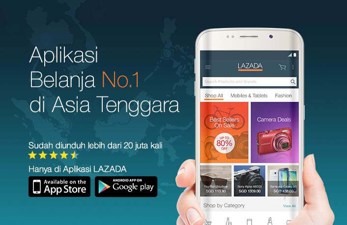 Download Aplikasi Lazada Android iOS