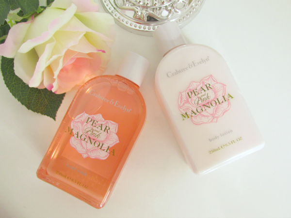 Crabtree & Evelyn Pear and Pink Magnolia  Review