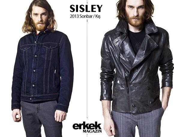 Sisley 2013 Erkek Sonbahar Kış Modası