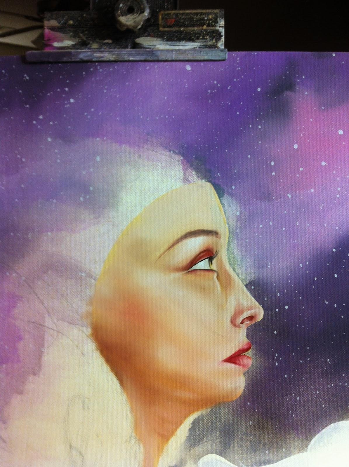 Hatziel Art Painting Artshow oil Acrylic