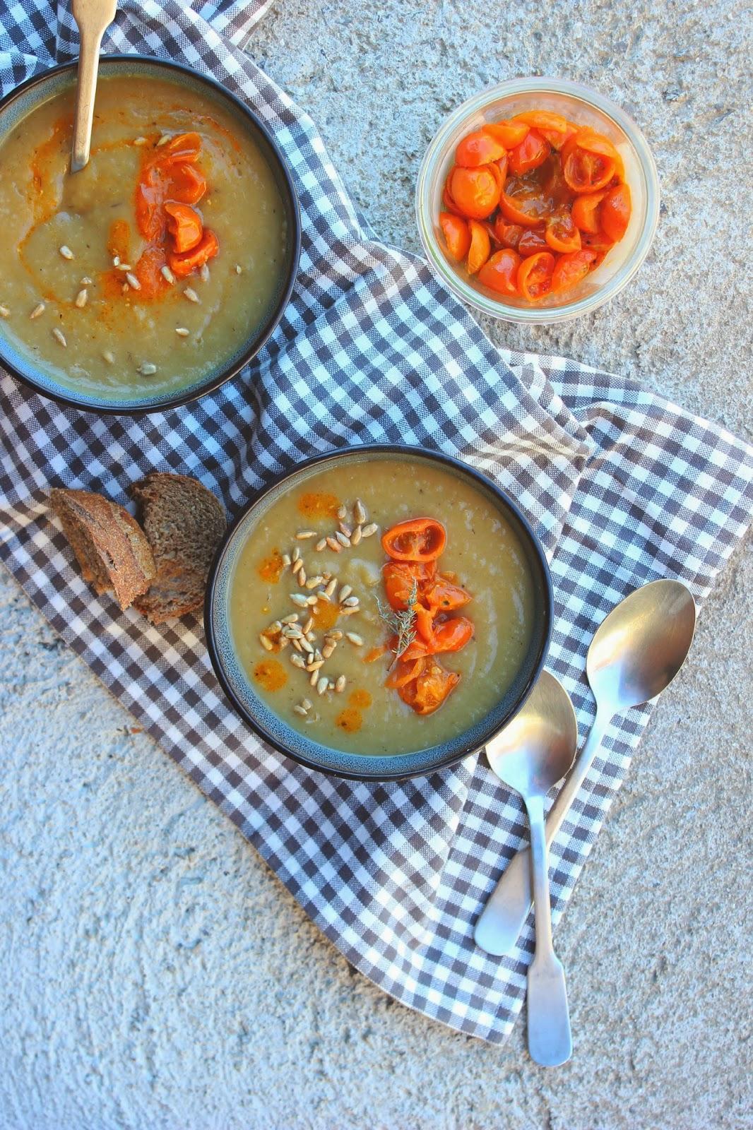 Sunny Sunchoke Soup | happy hearted kitchen