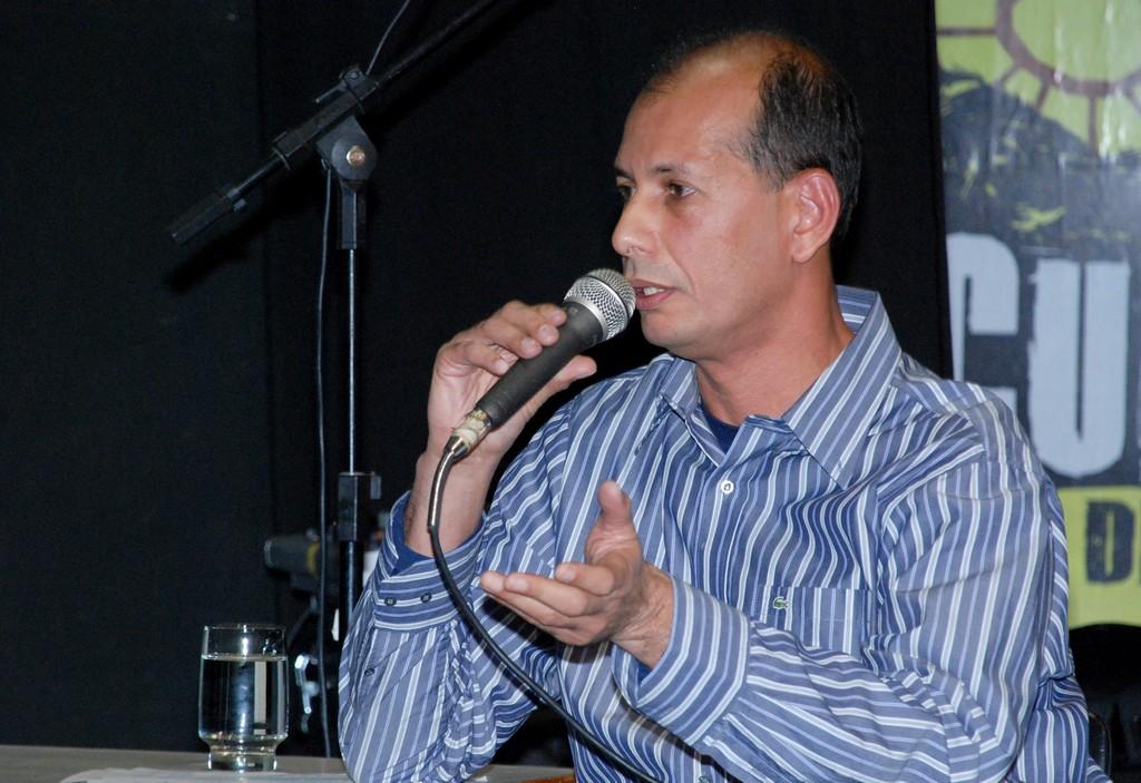 Nelson Freitas, gestor e produtor cultural, falou sobre dois eixos temáticos