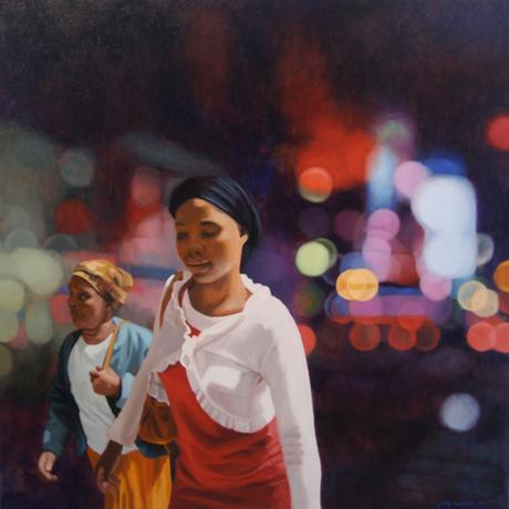 Philip Barlow pintura impressionista contemporânea