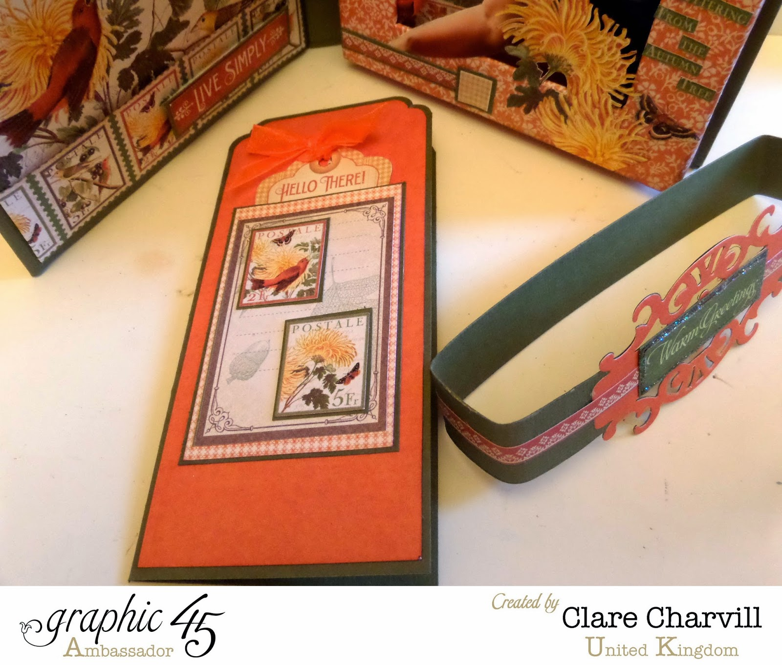 Time to Flourish Photo Box 5 Clare Charvill Graphic 45